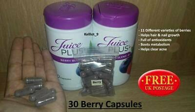 Brand New Juice Plus Berry Blend Capsules X30