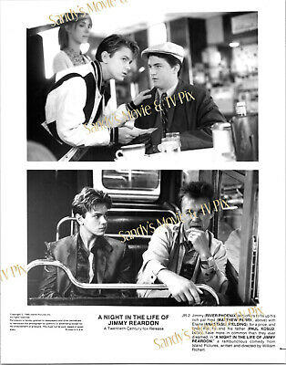 RIVER PHOENIX Terrific ORIGINAL Movie Photo A NIGHT IN THE LIFE OF JIMMY REARDON