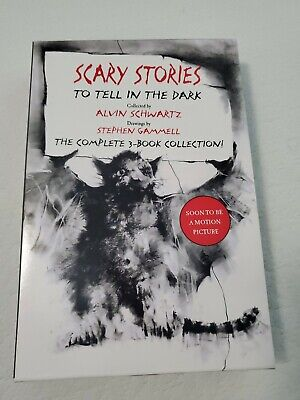 Scary Stories Paperback Box Set: The Complete 3-Book Collection withClassic Art