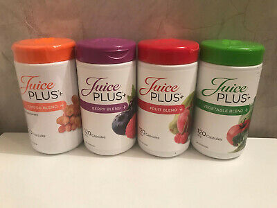 New Juice Plus Capsules Berry Fruit Veg Omega Weight Loss Trials