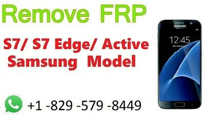 Google lock removal for All Samsung Model (FRP) (GOOGLE LOCK) S-6,7,8,9, Note, J