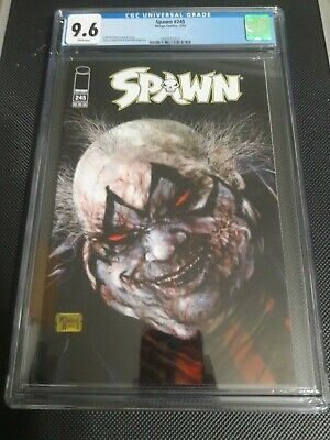 Spawn #245 (Image) Low Census, Rare, HTF, CGC Graded 9.6, Free Shipping!