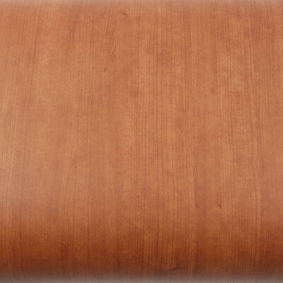 ROSEROSA Cherry Wood Self-adhesive Vinyl Covering Instant Counter top Wallpaper