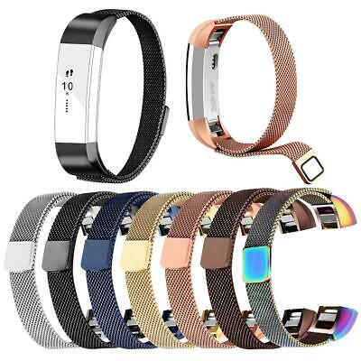 Milanese Stainless Steel Watch Band Strap Belt for Fitbit Alta/Alta HR/Alta Ace