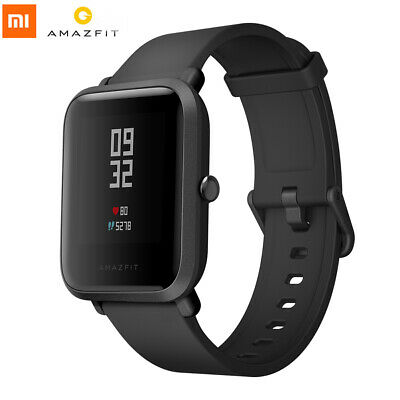 Xiaomi Huami AMAZFIT Bip GPS Heart Rate Smart Watch International Version Black