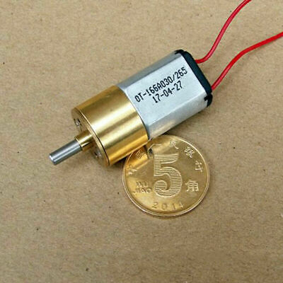 Precision Full Metal Gearbox Gear 030 Motor DC 3V 285RPM Speed Reduction Motor