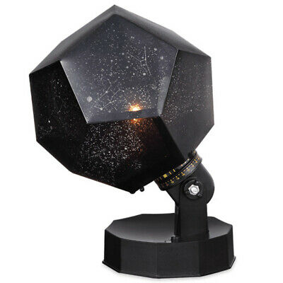 Night Light Projector Star Sky Night Lamp 3 Modes Rotation 3 LED 3 Color St S6P8