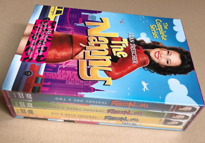 The Nanny - The Complete Series Seasons 1 - 6 (19 Disc DVD Box Set) New & Sealed