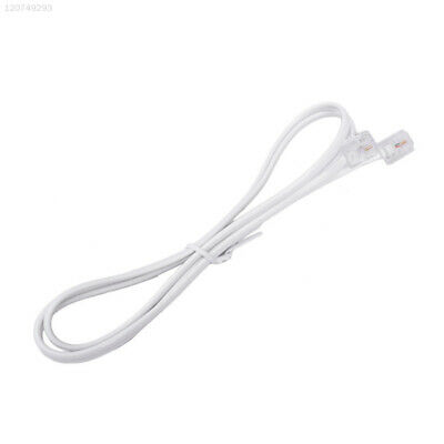 44BB Cable Telephone Cable Grey RJ11 To RJ11 1M 6P2C Phone