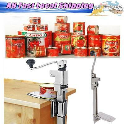 AU Heavy Duty Large Commercial Can Opener Counter Bench Top Cast Steel Table Hot