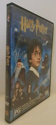 Harry Potter and the Philosopher's Stone - Daniel Radcliffe - DVD - Free AUSPost