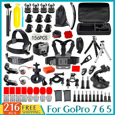 GoPro Accessories Pack Case Chest Head Floating GoPro Hero 7 6 5 4 3+ 2
