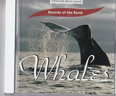 Cd - Sound Of The Earth - Whales #A47#