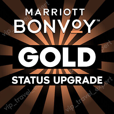 Marriott Bonvoy Gold Status Upgrade | Gold Lifetime Upgrade