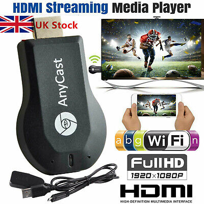 UK-WiFi HDMI Anycast Miracast Airplay TV Wireless Display DLNA Dongle Adapter