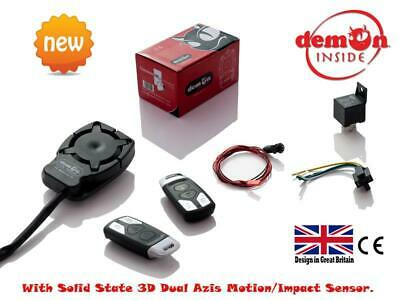 6v EASY FIT Two Wires Bike Scooter Trike Motorcycle Alarm- Plus Immobiliser