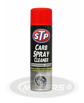 STP Carb Cleaner Spray 500ml Carburettor Choke Spray Cleaner