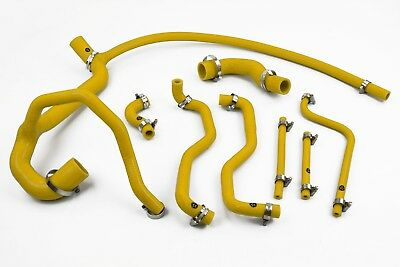 Stoney Racing Land Rover Discovery 300TDI Silicone Coolant Radiator Hoses Yellow