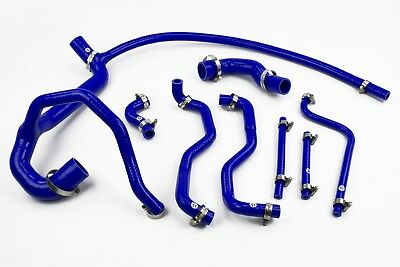 Stoney Racing Land Rover Discovery 300TDI Silicone Coolant Radiator Hoses Blue