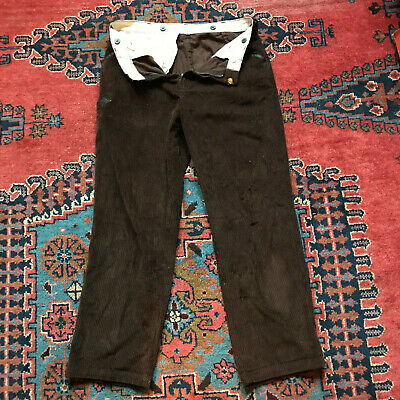 French Peasant - Vintage Corduroy Work Trousers