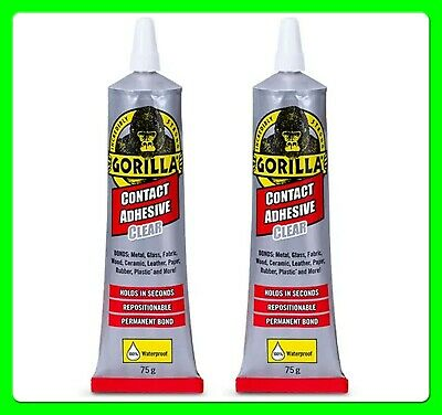 * Pack of 2 * Clear Contact Adhesive 75 g [2144001] Gorilla Glue