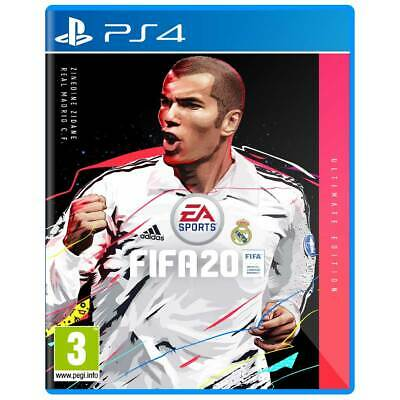 FIFA 20 Game Cover For PS4 Cover Art Box Art Disc Case, Zidane Real Madrid
