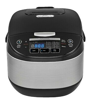 Insignia™ - 20-cup Rice Cooker - Stainless Steel