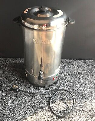 SWAN Tea Urn Electric Catering Hot Water Boiler Stainless Steel 20 Litres SWU20L