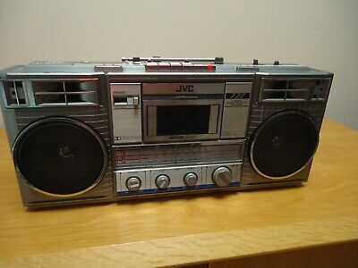 jvc rc 770  boombox ghettoblaster,  working, ok condition