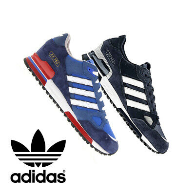 Adidas Originals Zx 750 Mens Trainers Bluebird Navy White Sneakers Shoes