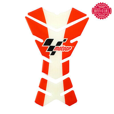 Official Motogp Universal Motorcycle Sportbike Tank Pad Protector Sticker Red