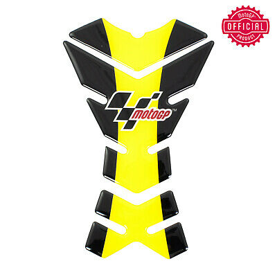 Official Motogp Universal Motorcycle Sportbike Tank Pad Protector Sticker Yellow