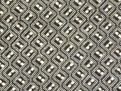 ~Back In Time Textiles~GREAT Antique 1875 Shaker grey calico fabric