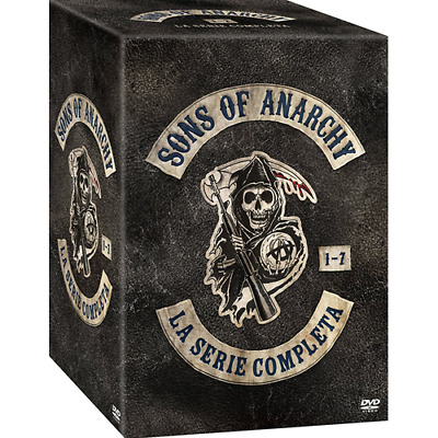 STV *** SONS OF ANARCHY - La Serie Completa (35 Dvd) *** sigillato