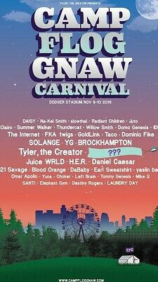 Camp Flog Gnaw Festival Ticket GA