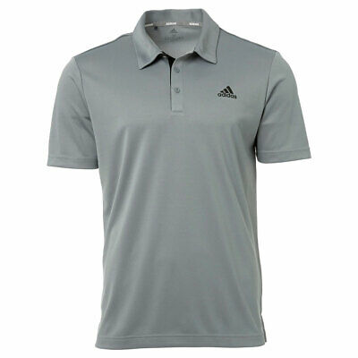 New 2019 Adidas Drive Novelty Solid Golf Polo Black/Gray Three Xx-Large
