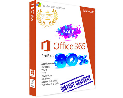 💥Microsoft Office 365 Home Business💥 5Devices Windows Mac INSTANT DELIVERY 5TB
