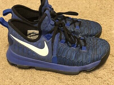 lowest price f086a fa12c NIKE ZOOM KD 9 855908-410 USA Finals Warriors Boys Basketball Shoes Sz: 6.5Y