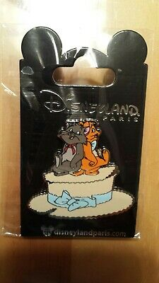 Disney DLRP DLP Aristocats Berlioz and Toulouse Hat Pin from the Jazz Event