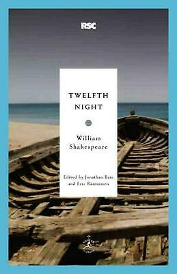 Twelfth Night by William Shakespeare (English) Paperback Book Free Shipping!