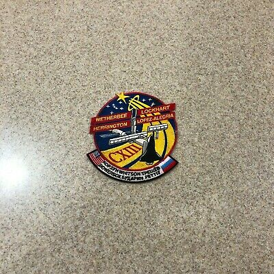 NASA Space Shuttle Mission STS-113 CXIII Endeavour Embroidered Iron On Patch