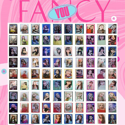 TWICE - 7th MINI ALBUM FANCY YOU PHOTO CARD TZUYU SANA MINA MOMO DAHYUN JIHYO