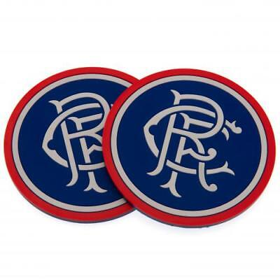 Glasgow Rangers FC Official Silicone Coasters 2 Pack