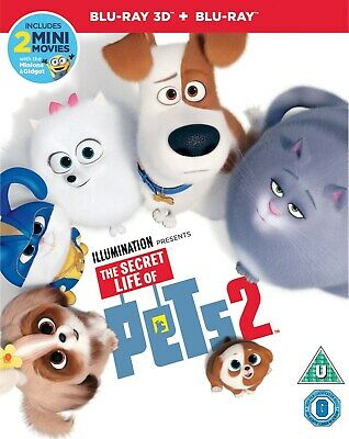 The Secret Life of Pets 2 (3D Edition with 2D Edition) [Blu-ray]