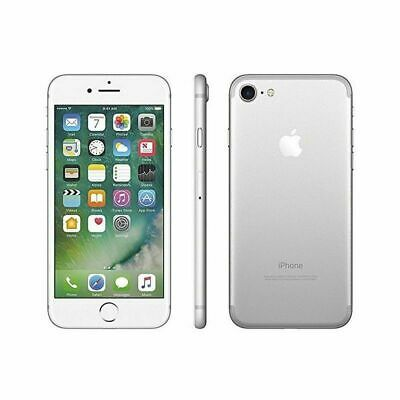 Nuovo Apple iPhone 7 32GB Argento Silver 12 Mesi Smartphone Top Seller