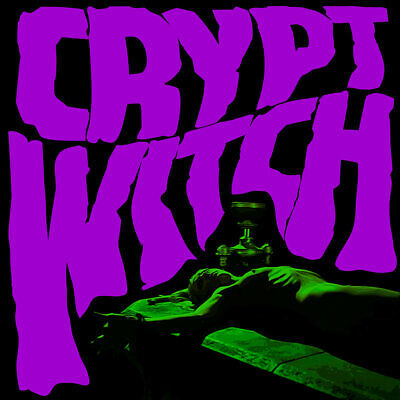 Crypt Witch - Bad Trip Exorcism // Vinyl LP limited to 300 copies on Green