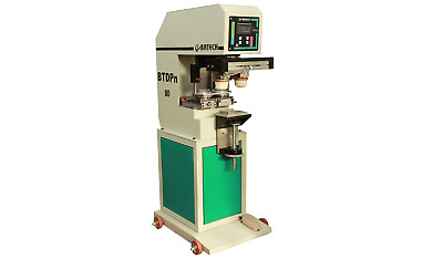 Batech BTDPn-80 Pneumatic Double Color Pad Printing Machine With Pad Movement