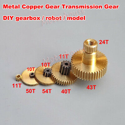 Precise Metal Steel Brass Copper Gear Transimission Gear 0.2/0.3/0.35 Modulus