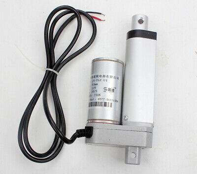 "12V 2"" Linear Actuator Motor Stroke 50mm 750N Max Lift For Autos Electric Sofa"