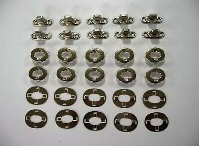 cloth peg and washers x5 Boat canopy fittings Turnbuttons